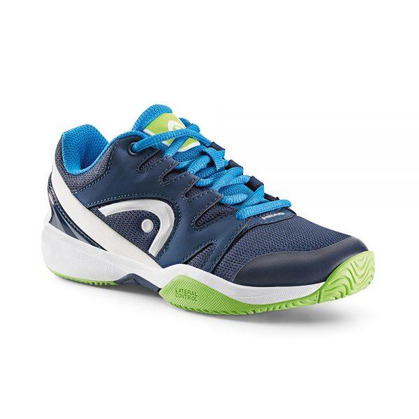Head Nitro Navy & Neon Green Tennis Shoes