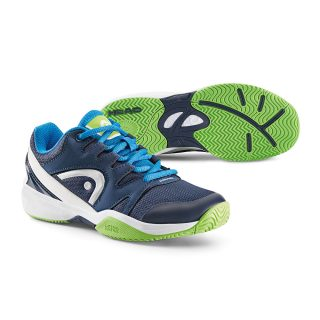 Head Nitro Navy & Neon Green Tennis Shoes