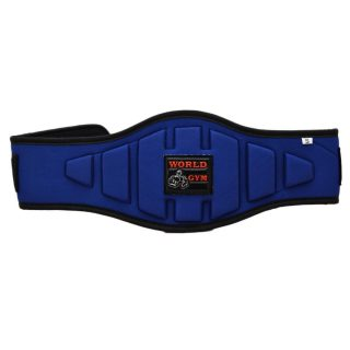 World Gym Weight Lifting Gym Fitness Power Belt