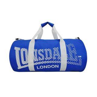 Lonsdale Barrel Sports Bag - Blue-White