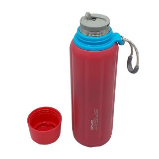 Pink 12 Hour Cold Backup Green Sports Bottle
