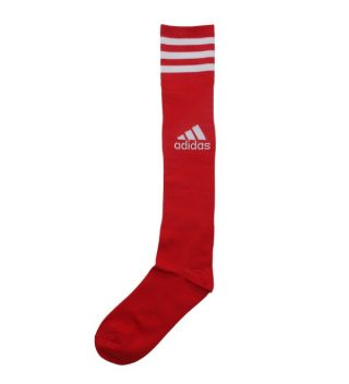 Adidas Football Long Socks In Red Color