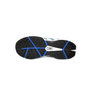 AS G200 Blue & White Rubber Gripper Cricket Shoes