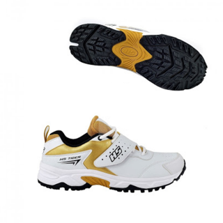 HS Tiger Shoes - Gold & White