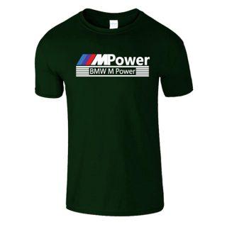 Cotton T-Shirt Motor Sport MPower BMW