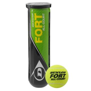 Dunlop FORT All Court Tennis Ball (Pack of 3)