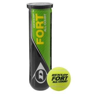 Dunlop FORT All Court Tennis Ball (Pack of 3)