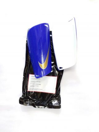 Mercurial Blue Shin Guards For Football Players