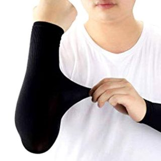 Pair Of Arm Short Sleeves Useful Cover Sun Light Protection Arm