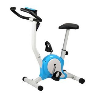 Exercise Bike - Blue and White