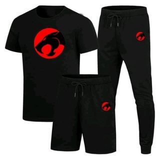 Pack Of 3 Thunder Cat Summer Track Suit & Night Suit