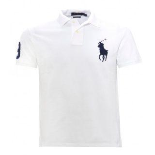 White Polo Sports T-shirt