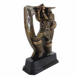 Cricket Trophy Statues Batsman Award