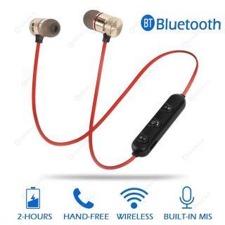 Wireless Bluetooth Sport Earphone Handsfree Neckband Magnetic