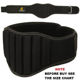 BX GEARS Weight Lifting Belt Gym Back Support Fitness