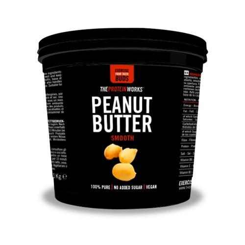 100% Natural Peanut Butter 1 kg Smooth