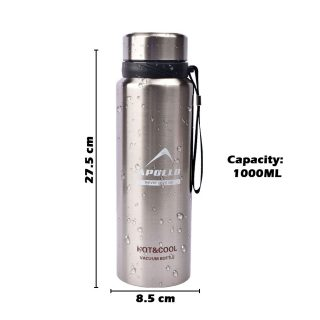 FLASK BOTTLE VACUUM THERMO HOT AND COLD BOTTLE