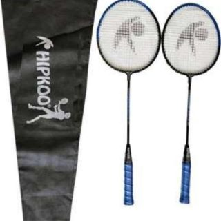 Pair of Badminton Rackets with bag