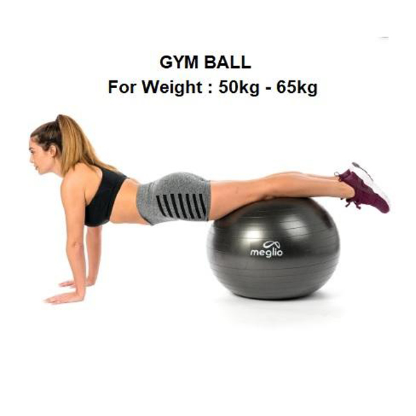 Swiss Ball Stability Gym Fitness Woman Pillow Exercise