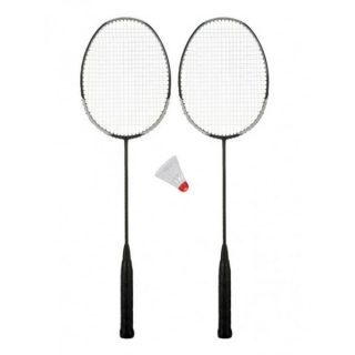 Pack of 2 Badminton Rackets With Free Shuttle