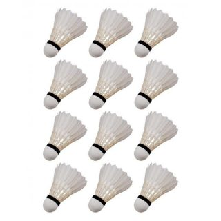 Pack of 12 Feather Shuttle Cocks
