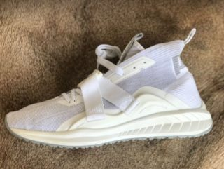 PUMA Men's Ignite Select Karim Ankle-High White Color Running Shoes