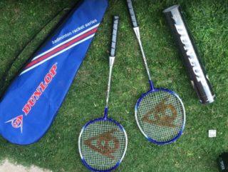 Dunlop Badminton Racket Set - 2 Player