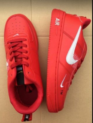 Nike Airforce Official model Red Color Shoes