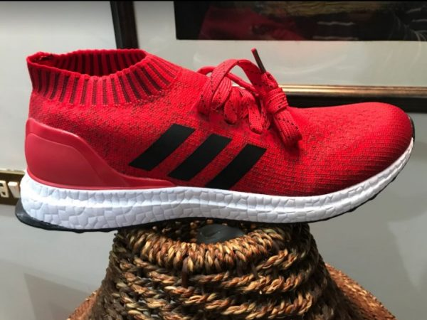 Adidas Ultraboost Red Color Running shoes for Men