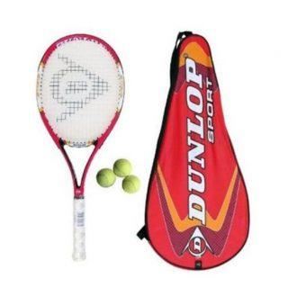 Set of 2 - Junior Tennis Racket with Tennis Balls - Standard