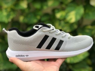 Adidas Lite Racer White Color Running Shoes