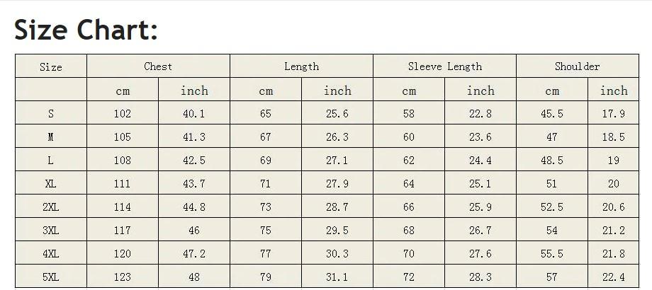 T-Shirts Size Chart Sports Ghar
