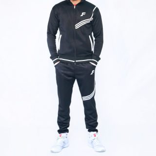FIREOX Tracksuit, Black, White, D2