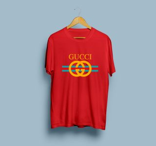 Gucci Printed T-Shirt for Men & Women – Red | 30% off at Sports Ghar