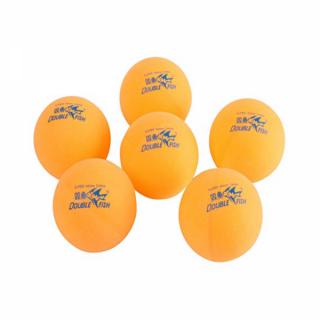 Double Fish B103FR Table Tennis Plastic Balls (6 Pack)