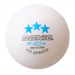 Donic P40 + *** Cell-Free Table Tennis Ball (3 Pack)