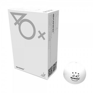 Sanwei 40+3 Star Seamless Pastic Balls (6 Pack)